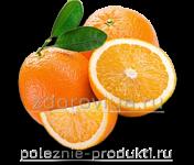 Апельсины разрезанные и целые