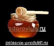 Банка с пчелиным медом