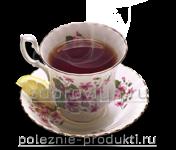 Напиток чай в чашке