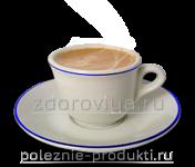 Напиток какао в чашке