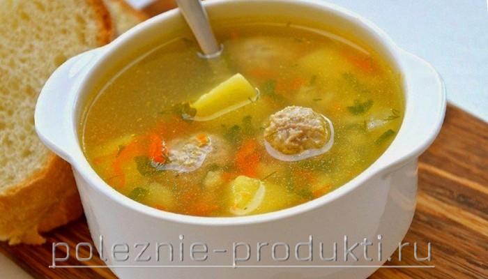 Картофельный суп в супнице