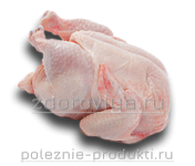 Тушка курицы сырая