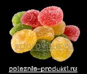 Мармелад в сахаре разноцветный