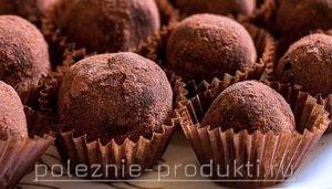 Пирожные с какао