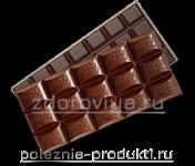 Плитки горького шоколада