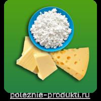 Полезные молочные продукты