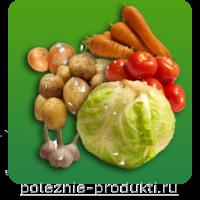 Полезные ежедневные овощи