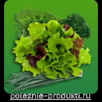 Свежая витаминная зелень